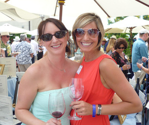 Renee Herrell and Valerie Townsend Livesay Wine Classic